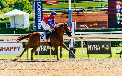 Rossa Veloce finishes 4th in her Stakes debut at Saratoga