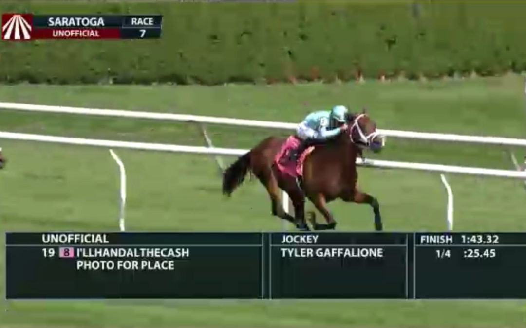 I'llHandalTheCash handles tough Saratoga allowance field!